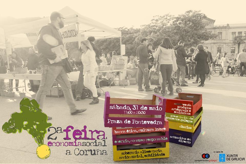 Feira Economía Social Coruña