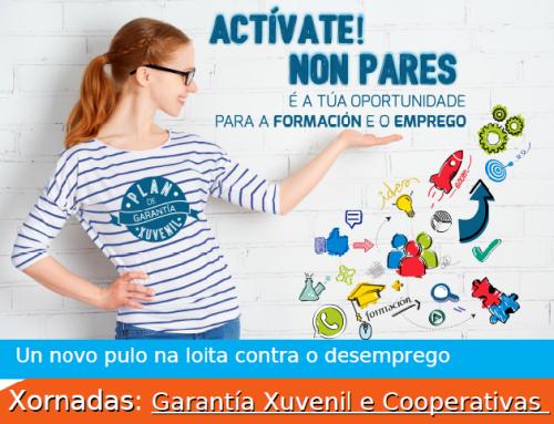 Xornadas de difusión: Garantía Xuvenil e Cooperativismo, 21-25 Setembro