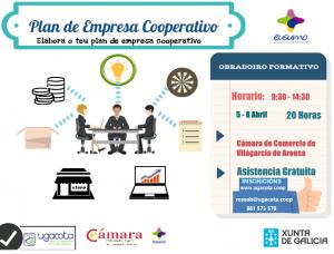 Cartaz PLAN EMPRESA COOPERATIVO_Vilag