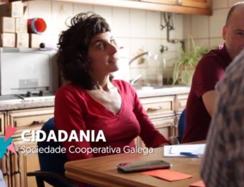 Cidadanía, rede de aplicacións sociais, s. coop. galega   Premio al Mejor Proyecto Cooperativo 2016