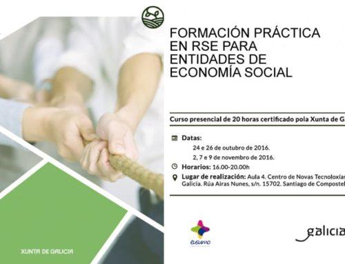 Formación práctica en RSE para entidades de economía social