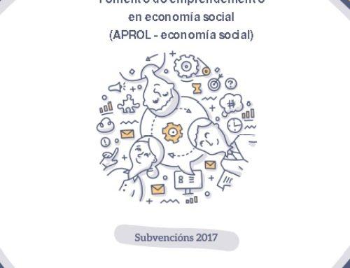 Convocadas axudas ás cooperativas. Programa APROL-economía social 2017