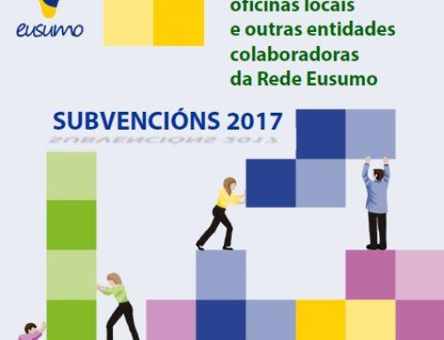 Axudas para fomento do cooperativismo e a economía social   Destinadas ás asociacións de cooperativas, oficinas locais e outras entidades da Rede Eusumo