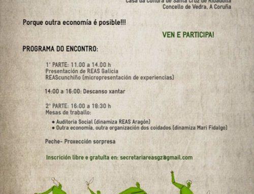 II Encontro de Economía Alternativa e Solidaria de Galicia, 22 Abril