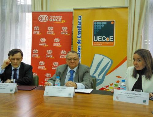 As cooperativas de ensino e a Fundación ONCE traballarán xuntas pola inclusión social e educativa