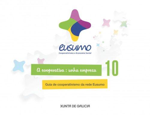Novos materiais divulgativos da Rede Eusumo para fomentar o cooperativismo e a economía social