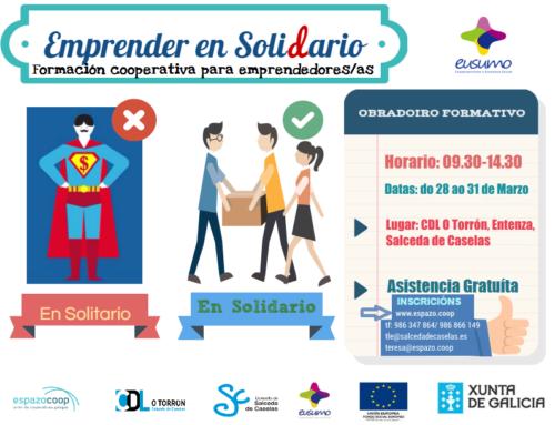 Formación cooperativa | 28-31 de marzo, Salceda de Caselas