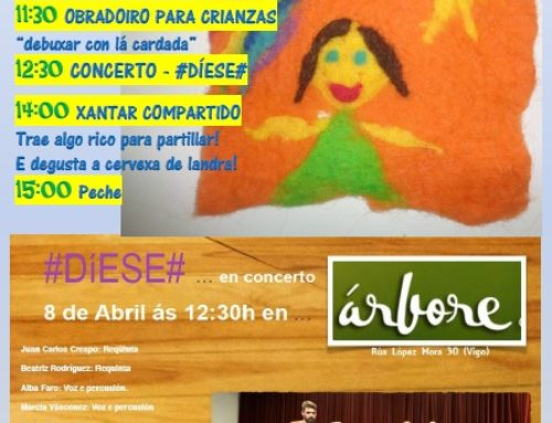 Árbore Consumo Consciente s. coop. galega, convida a súa Festa do sábado 8 de Abril
