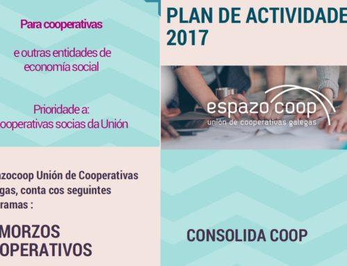 Demanda a Espazocoop os servizos 2017 destinados a cooperativas