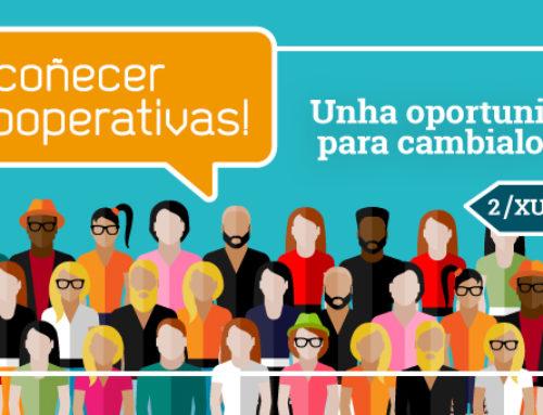 Ven coñecer ás cooperativas! | Cidade da Cultura | Venres 2 de xuño, 18-20 h.