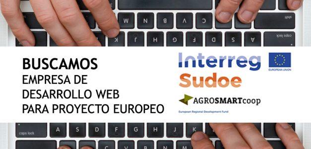 AGACA busca empresa de desenvolvemento web para proxecto europeo