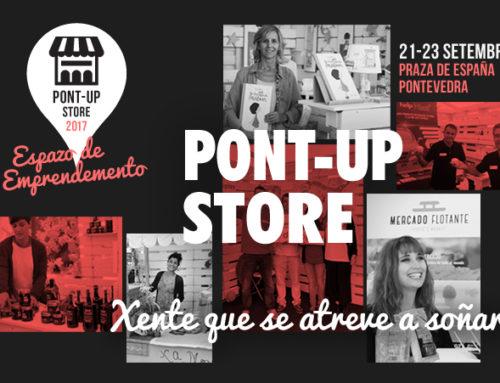 Pont-Up Store: Aberto o prazo de recepción de candidaturas ata o 9 de xullo