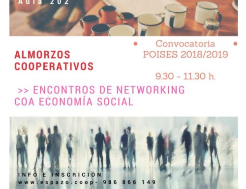 """Almorzos Cooperativos, Vigo, 21 de xullo [ """"Convocatoria Poises 2018-2019"""" ]"""