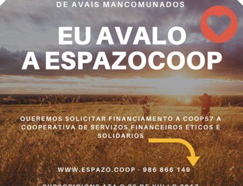 EU AVALO A ESPAZOCOOP : Campaña de Subscrición de Avais Mancomunados para solicitar financiamento a COOP57