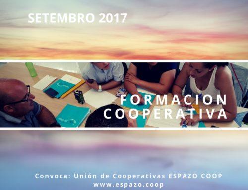 Formación cooperativa : setembro 2017, Santiago, Vigo, A Coruña