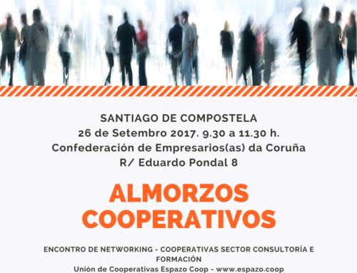 Almorzo Cooperativo | Sector consultoría e formación | Santiago, 26/09