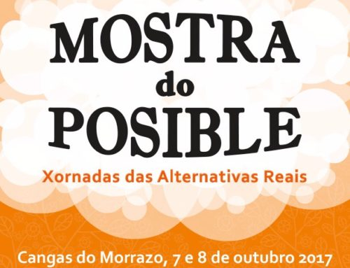 Mostra do Posible | 7 y 8 de octubre, Cangas