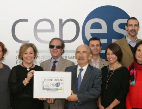 La ONCE apoya con el cupón del 4 de noviembre a la Economía Social | CEPES 25 años