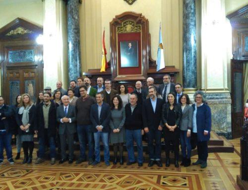 EspazoCoop en la firma del Pacto Local por el Empleo del Concello de A Coruña