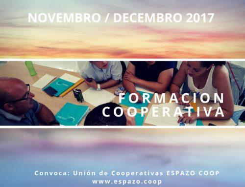 Formación cooperativa presencial de EspazoCoop en noviembre