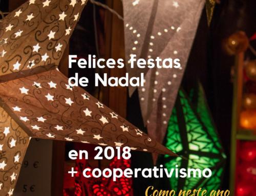Queremos Felicitaros las fiestas y el 2018