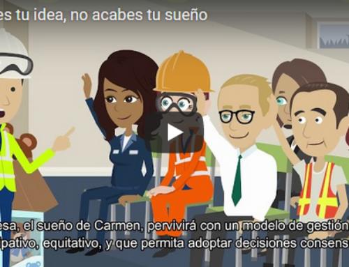 Vídeos 'Non xubiles a túa idea, non acabes o teu soño' | Campaña para a transmisión de empresas en forma cooperativa