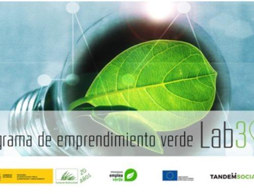 Programa Lab3, apoio a iniciativas verdes, buscan proxectos con impacto positivo!