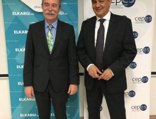 CEPES e ELKARGI SGR, asinan un acordo para mellorar o financiamento da Economía Social
