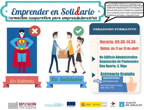 Formación cooperativa para persoas que queren emprender | Vigo