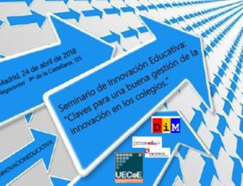 """Seminario de Innovación Educativa: """"Claves para una buena gestión de la innovación en los colegios"""""""