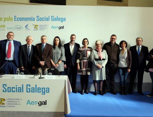 O Foro pola Economía Social Galega nace da man das cinco entidades máis representativas