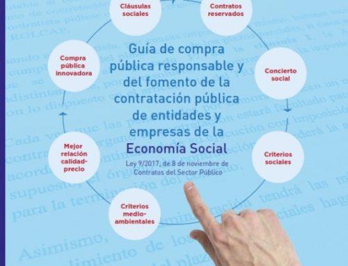 Guía de compra pública responsable, e do fomento da contratación pública de entidades da economía social