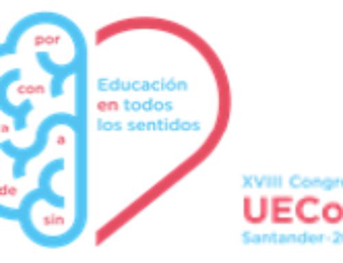 Aberta a inscrición ao Congreso de UECoE – 2018 ' EDUCAR EN TÓDOLOS SENTIDOS'