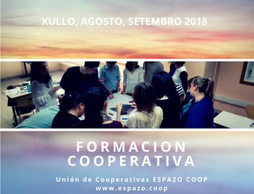 Formación cooperativa – julio, agosto, septiembre | EspazoCoop | Presencial