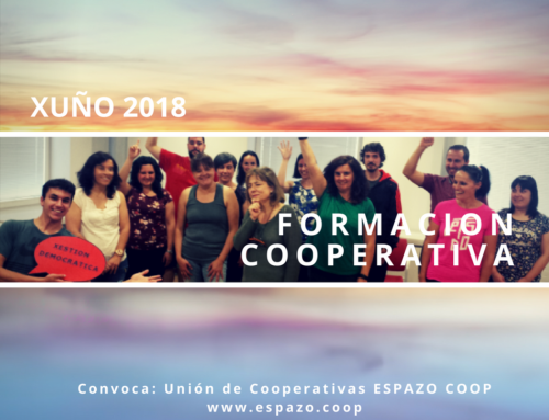 FORMACIÓN COOPERATIVA de JUNIO | EspazoCoop | Presencial