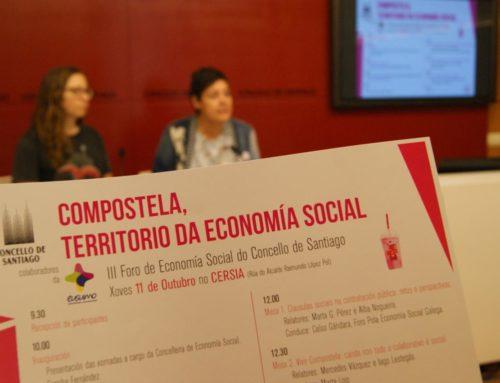 'Compostela, Territorio da Economía Social'   11 outubro