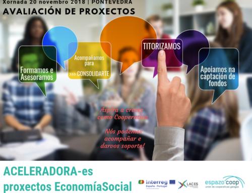 Xornada: 'Avaliación de Proxectos de Economía Social' [Aceleradora Laces] | 20 novembro, Pontevedra