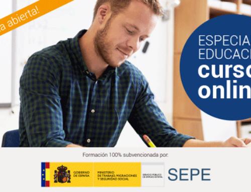 Especial Sector Educación, cursos en liña | UECoE-Grupo Femxa