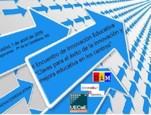 II Encontro de Innovación Educativa | 1 abril, UECoE