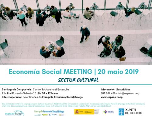 'Economía Social Meeting' sector Cultural | 20 de Maio