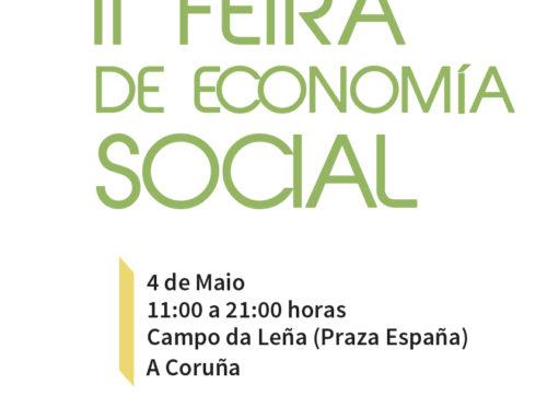 El sábado 4 de mayo se celebra la Feria de Economía Social de A Coruña