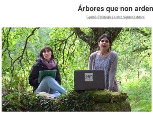 Campaña en Goteo de Catro Ventos e Batefogo | Mecenado do Libro 'Árbores que non arden'