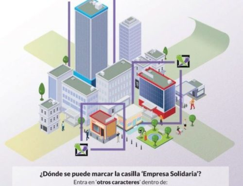 Campaña para marcar a X de Fins Sociais no Imposto de Sociedades
