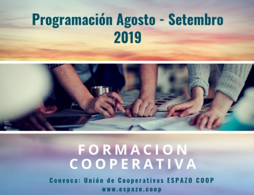 Obradoiros en agosto e setembro 2019 | Unión de Cooperativas EspazoCoop