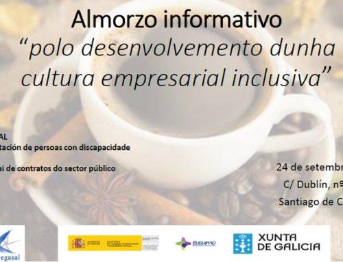 Desayuno informativo: «Por el desarrollo de una cultura empresarial inclusiva» 24 septiembre | Cegasal