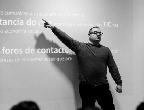 A Unión de Cooperativas Espazocoop presentou en Vila Real a axenda do sector TIC da economía social na Eurorrexión