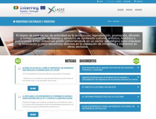 Axenda sectorial: Industrias culturais e creativas na economía social | Proxecto Laces