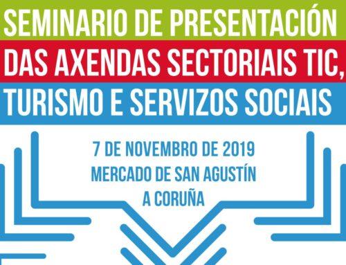 A Unión de Cooperativas Espazocoop presenta na Coruña a Axenda do Sector TIC da economía social na Eurorrexión