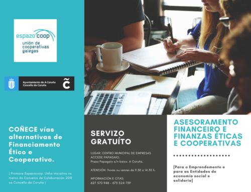 Servizo de Asesoramento Financeiro e Finanzas Éticas e Cooperativas | A Coruña