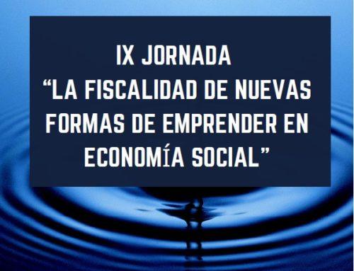 Xornada 'A Fiscalidade nas novas formas de Emprender na Economía Social' | 19/11/19 Madrid